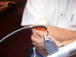 Fly tying class